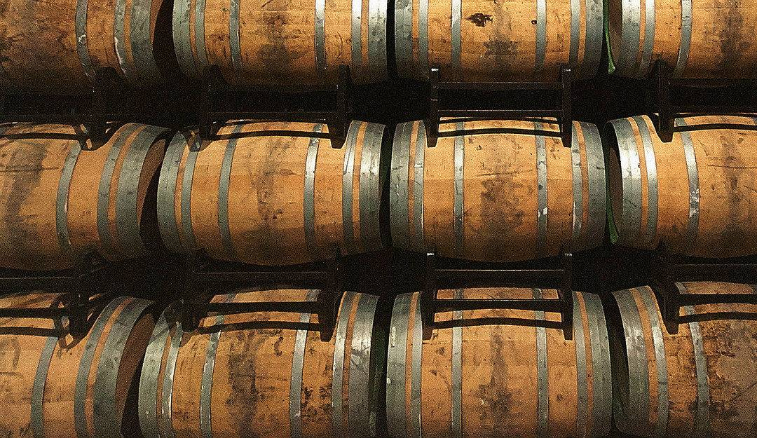 wine barrels, image used under a creative commons license by flickr user min_master