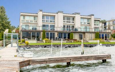 Beautiful Waterfront Condominium, With Lake Washington Views in Kirkland