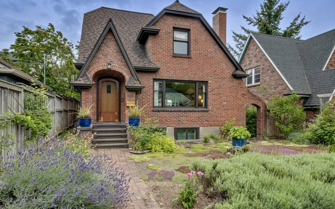 Charming, Fully Remodeled Brick Tudor In Seattle