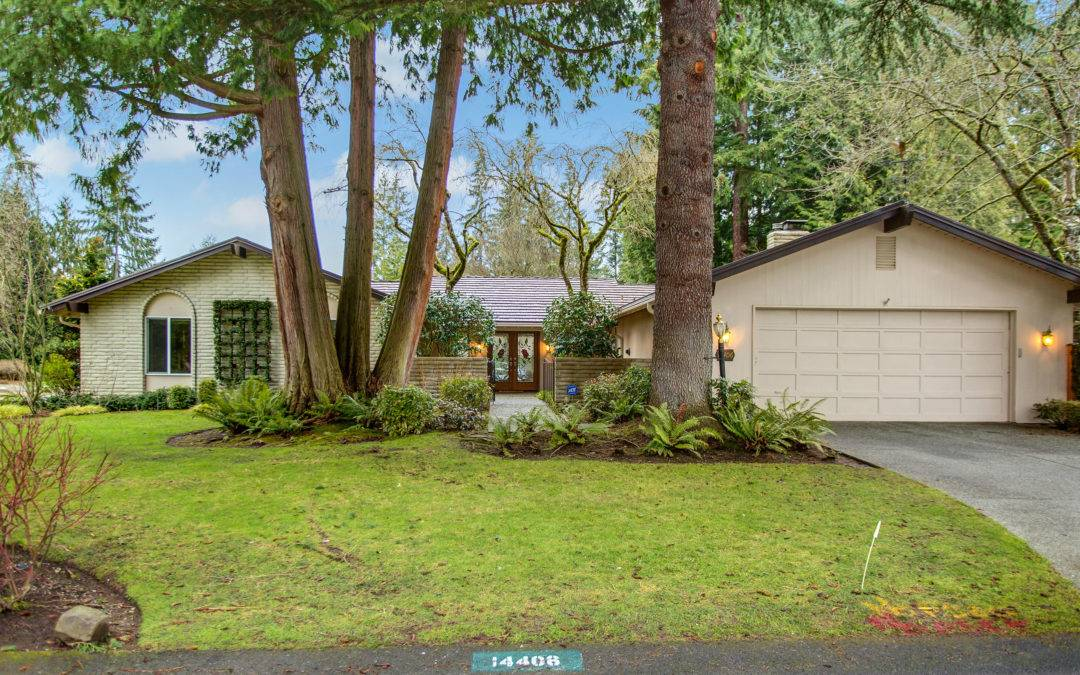 Spacious, Open, Remodeled Rambler In Bellevue