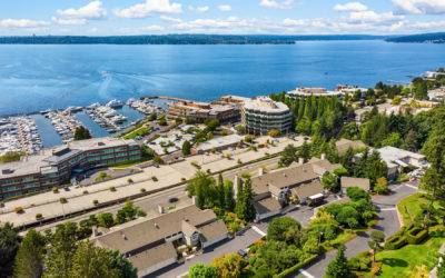 Amazing One Bedroom, Plus Den Condominium with Lake Views in Kirkland